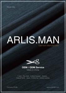 Arlisman company profile - cover