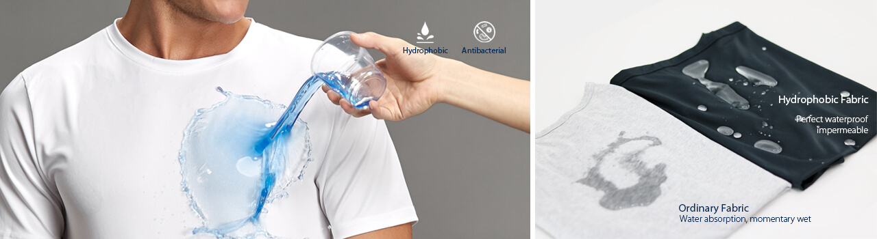High quality Hydrophobic tees manufacturer.