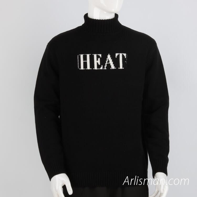 High Collar Sweater.