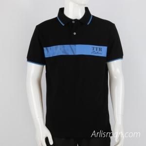 Custom Black Polo Shirt