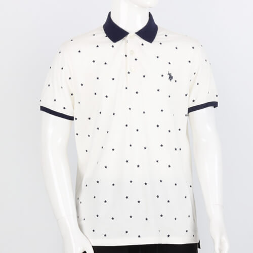 All Over Stars Print POLO-3
