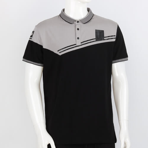 Color-Bloked POLO Shirt
