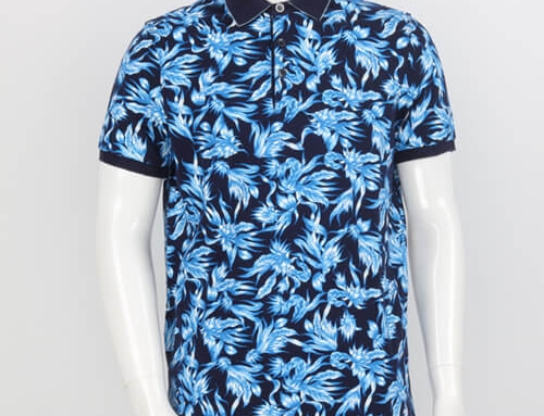 Summer Ocean-Blue POLO Shirt