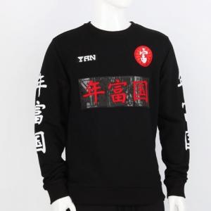 Word Print Sweatshirt