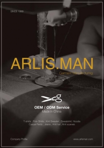 Arlisman garment factory catalogue - 1