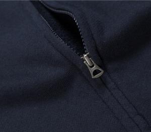 zipper hoodie - detail