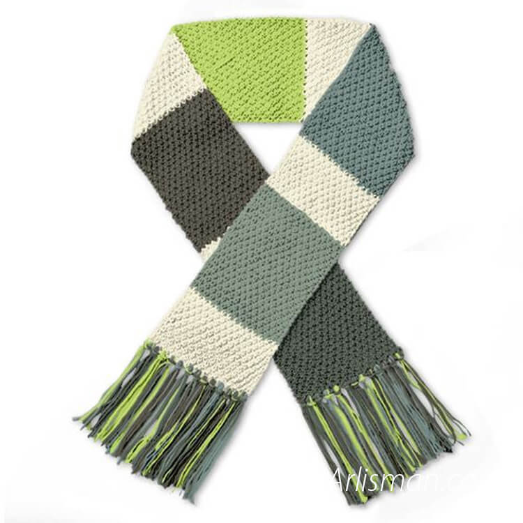 OEM Knit Scarves in china