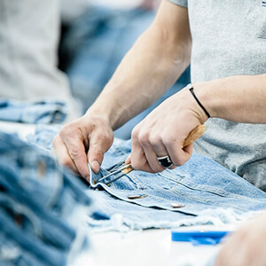 Jeans Quality Inspection Department