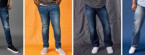 Men's jeans type