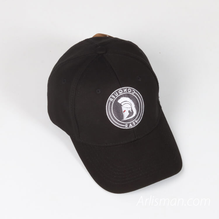 Embroidery Baseball Cap - Black