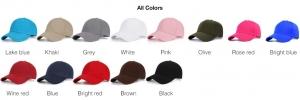 New design baseball caps