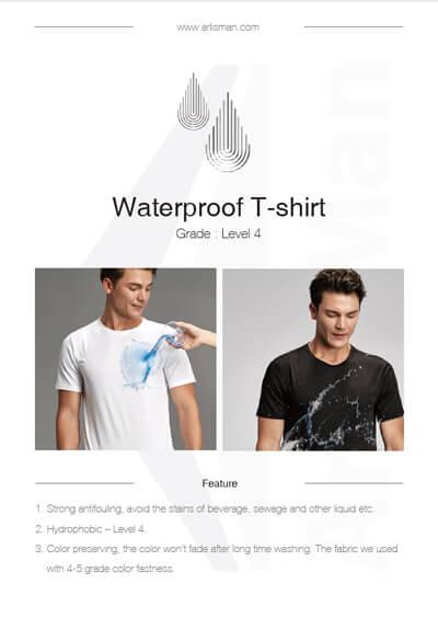 Waterproof T-shirt Catalogue