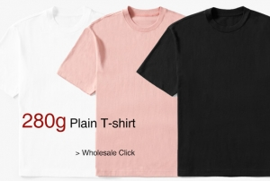 Wholesale 280g T-shirt in China
