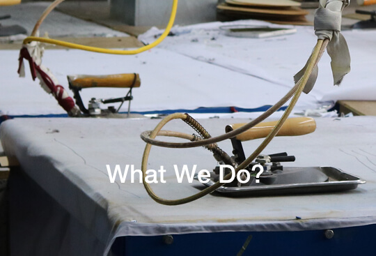 What we do - garment factory