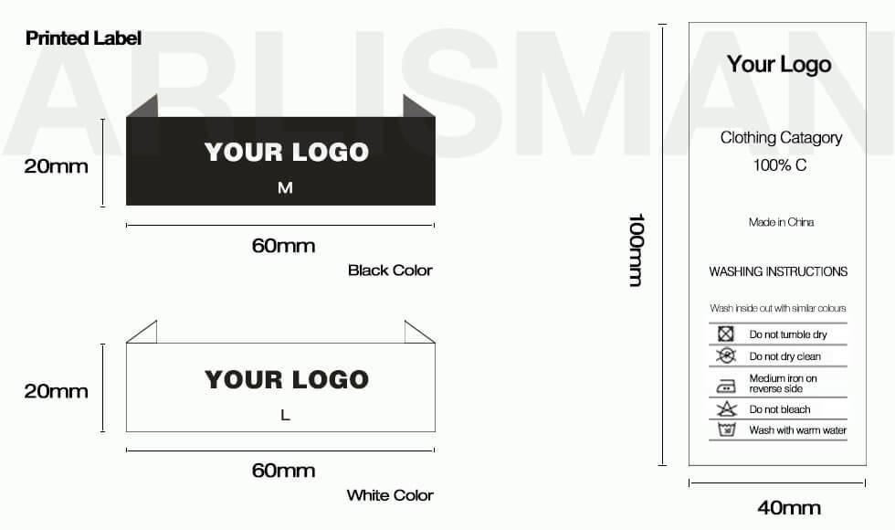 Custom T-shirt label