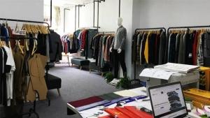 Clothing manufacturer showroom