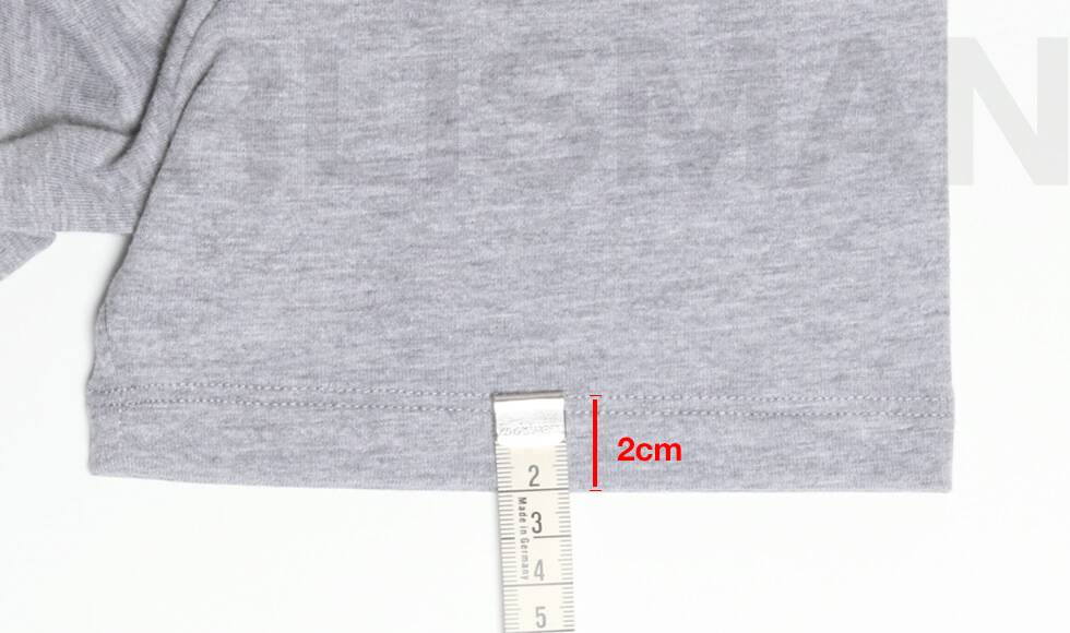 Tees detail for clothes manufacturers